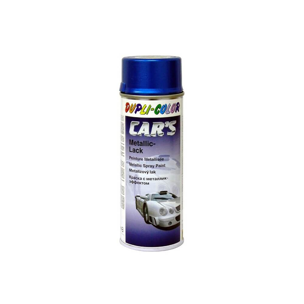 Pintura Metalizada azul spray 400 ml.