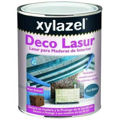 Deco Lasur Xylazel blanco 750 ml.