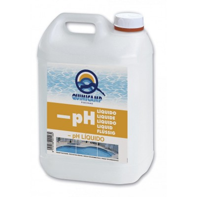 Reductor PH liquido Quimicamp 5 lt.
