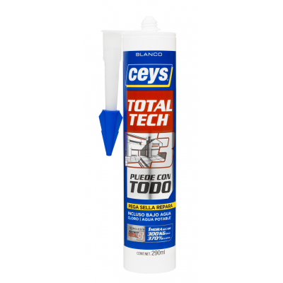 Adhesivo Sellador Total Tech 290 ml.