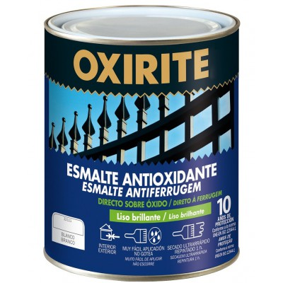 Esmalte antioxidante Oxirite 10 brillo 750 ml.