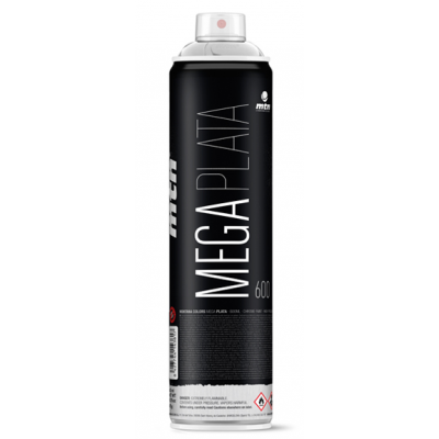 Spray Montana Mega Plata 600 ml.