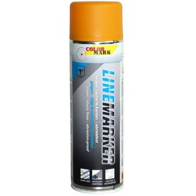 Pintura marcaje Linemarker amarillo spray 500 ml.