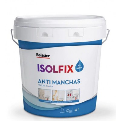 Isolfix quitamanchas al agua 750 ml.