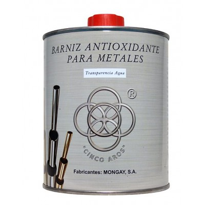 Barniz metales antioxidante brillo Cinco Aros