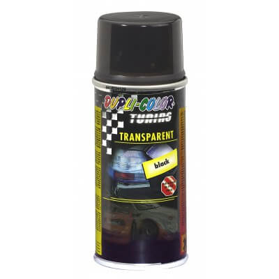 Laca traslucida pilotos spray 150 ml.