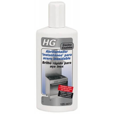 Abrillantador acero inoxidable HG 125 ml.