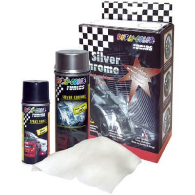 Kit para cromado Silver chrome