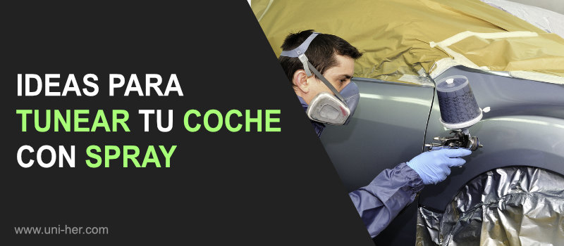 ideas para tunear coche con spray